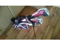Wilson prostaff kids golf clubs 5-7