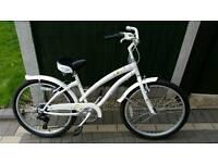 "Apologies Tropic Kids 20"" Hybrid bike Pearl White"
