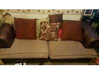 Chesterfield style 4 seater sofa set