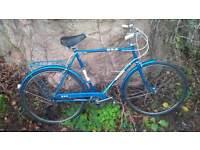 "BSA Granada Bike 23"" Frame Classic Gents Bike 3 speed Sturmey Archer"