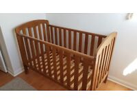 John Lewis - Cot Bed - convertible to Junior Bed