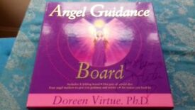 Signed Doreen Virtue Angel Board - As New