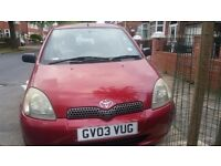 Toyota Yaris 1.0 VVT-i Colour Collection 5dr Red
