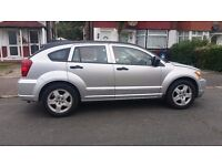 Dodge Caliber SXT , Silver, 1.8 Petrol , year 2007, 86600 miles, Full leather heated seats