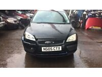 2005 Ford Focus Lx 5dr 1.6 Petrol Black BREAKING FOR SPARES