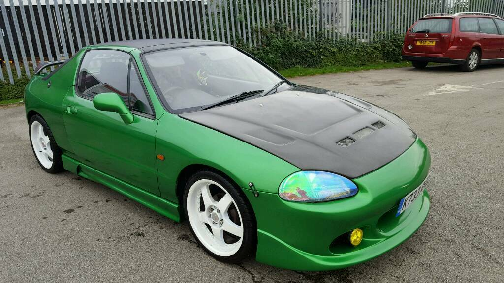Honda Crx Del Sol B16a2 Vti Jdm Jap Imported As Esi Workimg Electric Roof In Sheffield South Yorkshire Gumtree
