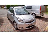 2011 TOYOTA YARIS 1.4 D4-D, T-SPIRIT MODEL, ONE OWNER F/S/H, 69,000, EXCELLENT CONDITION