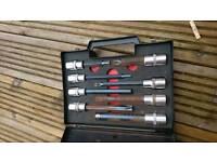 Spline set specially designed for cylinder head bolts