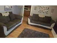 3 + 3 seater sofa