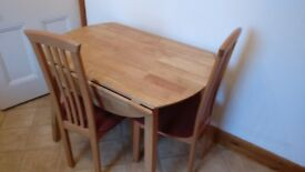 2 x Dining Tables and 4 x Chairs