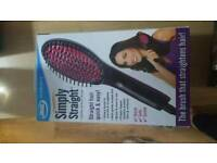 Jml hair straightenering brush