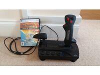 Black Widow Speedlink Joystick controller and Flight Sim Gold Edition £25