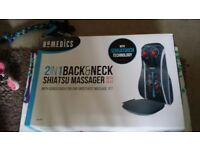 Homedics 2 in 1 back and neck Massager