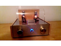 VALVE AMP audiophile quality hardly used STUNNING quality integrated amp