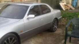 lexus ls 400 spares repair, short mot needs water pump & cambelt never over heated, loved car