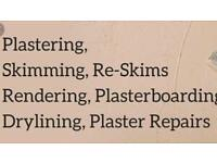 GET PLASTERED.... plastering & tilling.