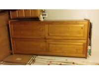 Pine single wardrobe in good condition