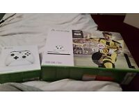 Xbox one s with fifa 17 brand new console with brand new controller