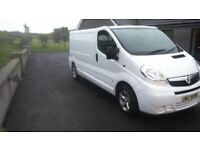 2010 VAUXHALL VIVARO LWB SPORT ONE OWNER FROM NEW NO VAT
