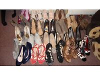 Job of lot shoes bags everything in pictures
