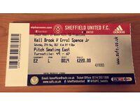 Kell Brook vs Errol Spence - IBF World Title Fight - Matchroom Boxing - Bramall Lane - Sheffield