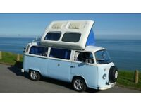 Well looked after VW camper type 2 bay 1972 tax exempt low insurance,Solid reliable van, gas cooker