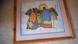 Framed South African Painting 2005