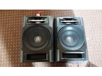 Philips Speakers x 2 - Good Condition