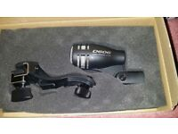 Yoga-D606 Drum Mics Uni-Dir Dynamic Clip on as new boxed £20 EACH WITH LEAD