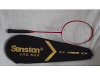 Badminton Racquet and Cover