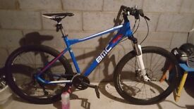 I bought the bike 12 months ago barley used perfect for a chrismas present bought for £500want £250