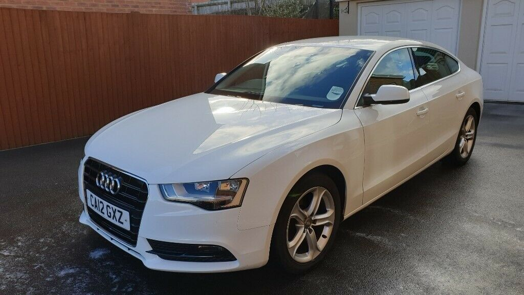 Audi A5 Sportsback White In Bridgend Gumtree