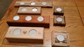 T light candle holders