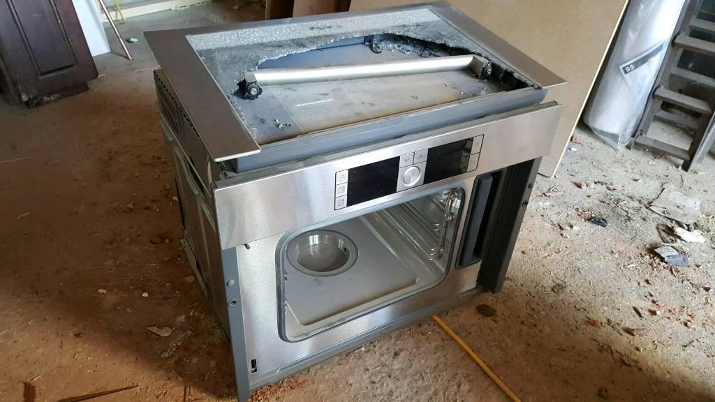 Bosch steam oven brand new but damaged