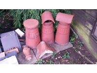 Miscellaneous Reclaimed Chimney Pots