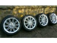"BMW 1 Series M Sport 17"" alloy wheels & runflat tyres"