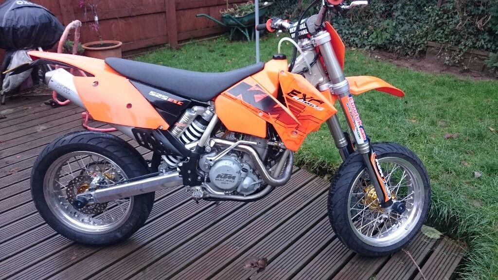 ktm 525 exc supermoto px and delivery possible in. Black Bedroom Furniture Sets. Home Design Ideas