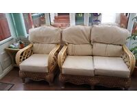 Conservatory Furniture - 2 Person Sofa & 2 Armchairs