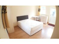 5 HUGE DOUBLE ROOMS AVAILABLE NOW IN DEVONS ROAD, 2 WITH GARDEN AND LIVING ROOM IN THE FLAT