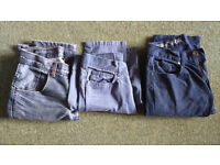 Boys jeans ages 11-18
