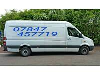 Man and / with Van for hire Warrington, Manchester, Liverpool, long distance in ALL UK