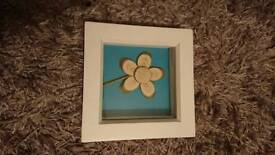 Flower gift photo frame.