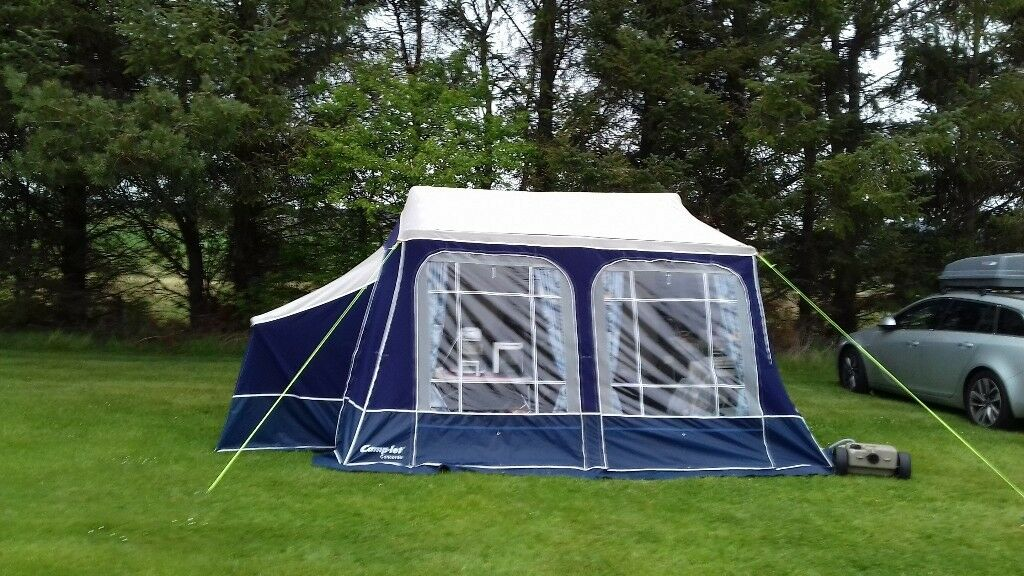 2011 Camp Let Concorde Se Trailer Tent With Side Annex