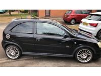 Black 3 door hatchback VAUXHALL Corsa 1.2 sxi 16v