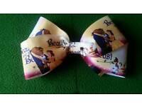 Beauty and beast jojo inspired bow