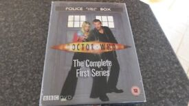 Dr Who The Complete First, Second, Third & Forth Series. 4 Seperate Box Sets