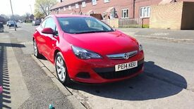 2014 vauxhall astra GTC 1.4 turbo. £7500 open to reasonable offers.