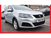7 Seater -- 2012 SEAT Alhambra 2.0 TDi CR Automatic --58000 Miles --alternate4 ford galaxy vw sharan
