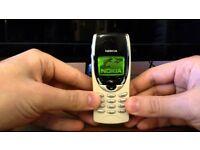 Nokia 8210 - (Unlocked) graded - cute+ stylishMobile Phone GRADE A MINT