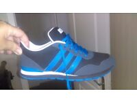 MENS ADIDAS NEO TRAINERS SIZE 8 ....